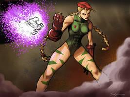 Cammy from Street Fighter II by ninjaink