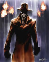 Rorschach by ninjaink