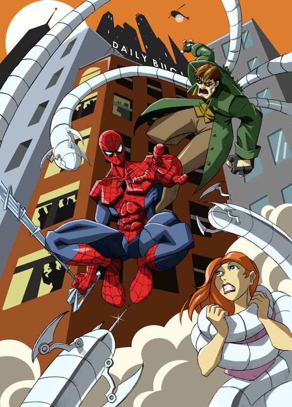 Spider-Man 2 by ninjaink