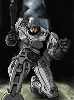 Robocop by ninjaink