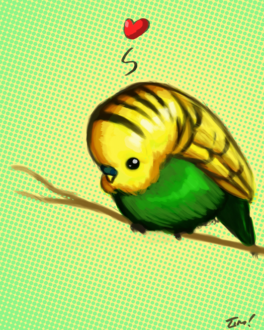 Avatar for A giant parakeet