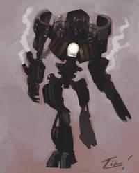 Steampunk Prime by ninjaink