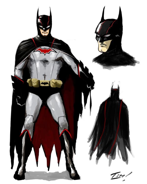 Daredevil Reboot Costume Batman: Retro Modern b...
