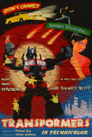 Transformers Noir by ninjaink