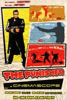 Punisher Noir by ninjaink