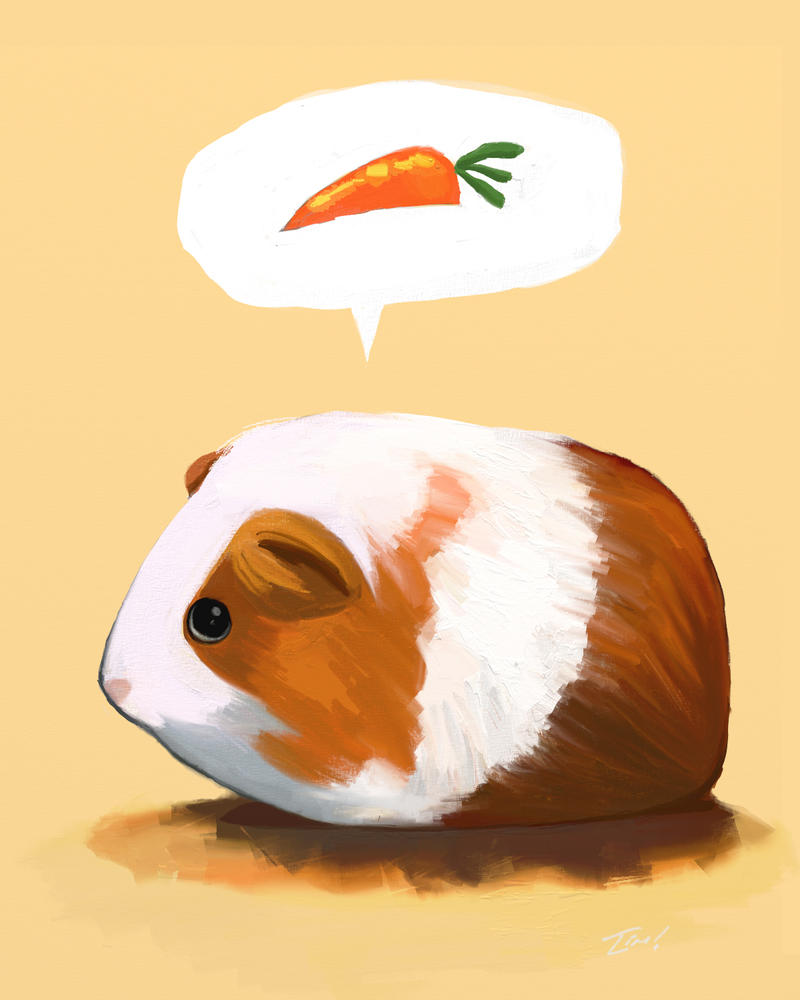 Speaking For All Guinea Pigs by ninjaink