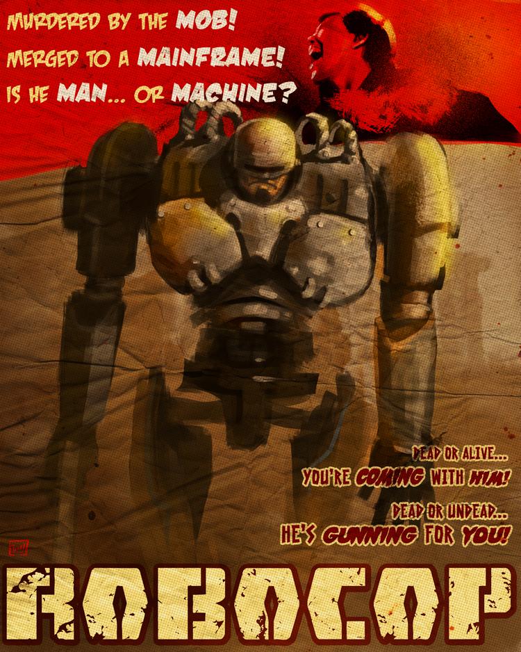 Vintage Robocop by ninjaink