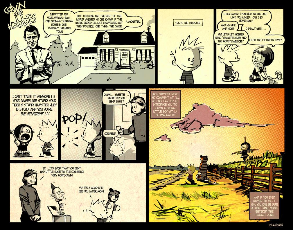Calvin and Hobbes Twilight Zone