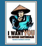 I Want You for Kombat