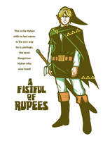 A Fistful of Rupees by ninjaink