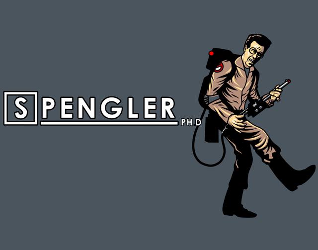 Spengler, Ph.D. by ninjaink