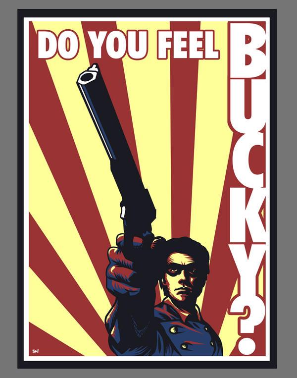 Do You Feel Bucky by ninjaink