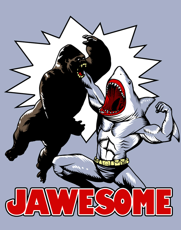 JAWESOME by ninjaink