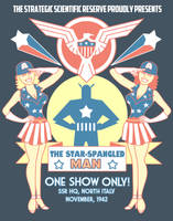 The Star Spangled Man by ninjaink