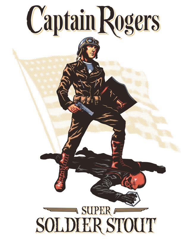Captain Rogers by ninjaink