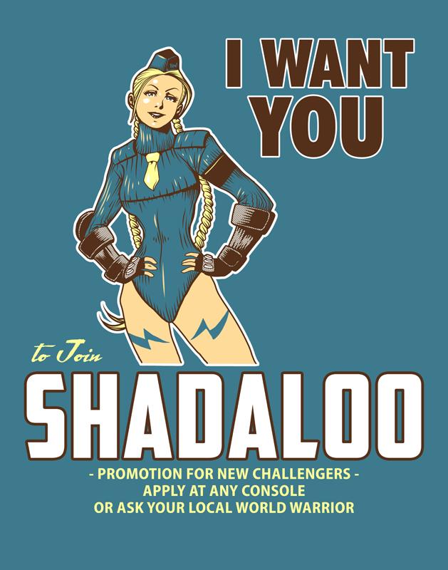Shadaloo Wants You by ninjaink