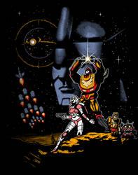 Episode IV A New Prime by ninjaink