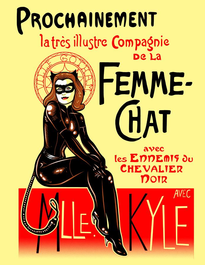 La Femme-Chat Part Deux by ninjaink