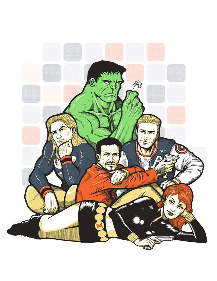 the avengers club by ninjaink on deviantart