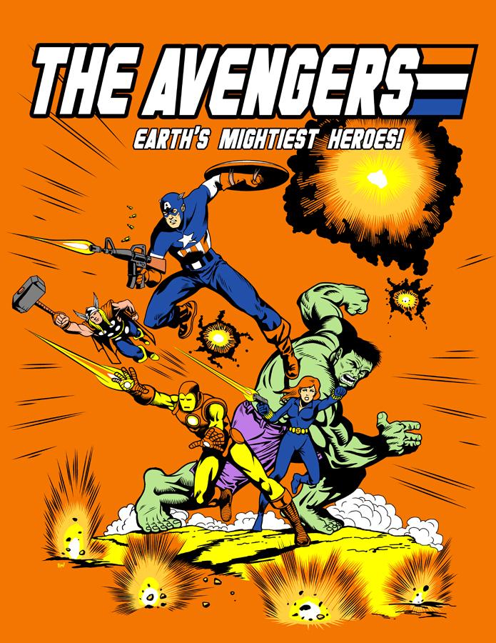 G.I. Avengers by ninjaink