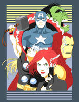 The Fashion Avengers