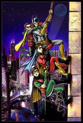 Adventures in Robinsitting by ninjaink
