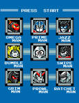 Destroy the Robot Masters