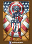 Captain America Deco
