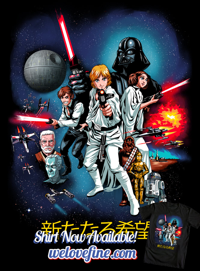 A New Hope: the Anime by ninjaink
