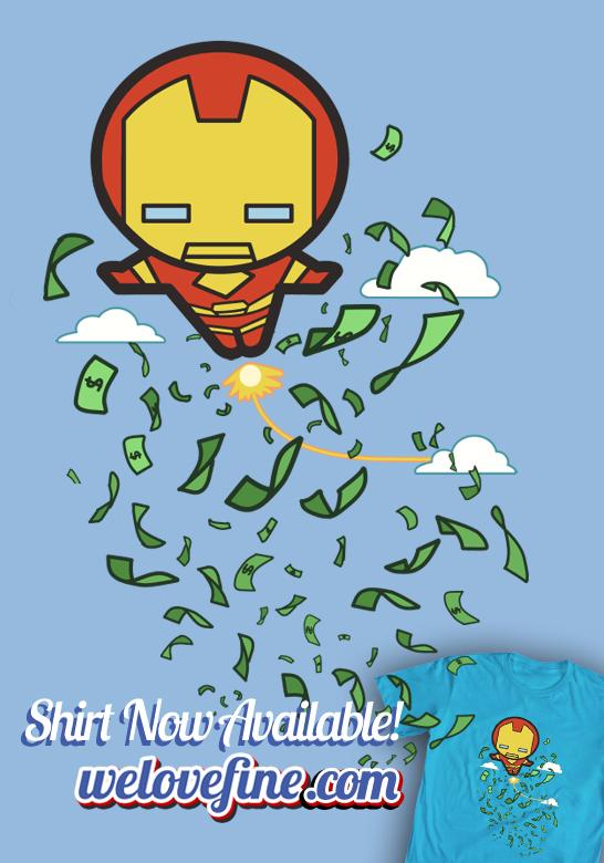 Iron Man Kawaii by ninjaink