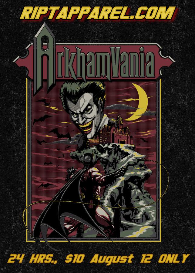 ArkhamVania by ninjaink