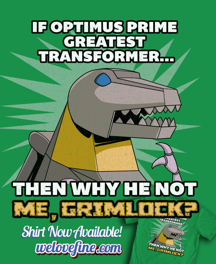 Philosogrimlock by ninjaink