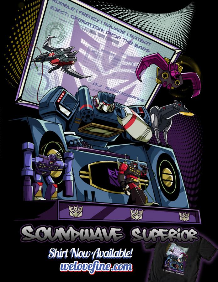 DJ Soundwave by ninjaink