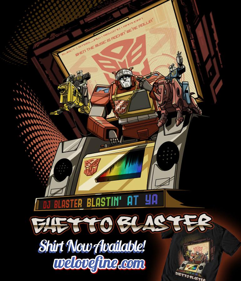DJ Blaster by ninjaink