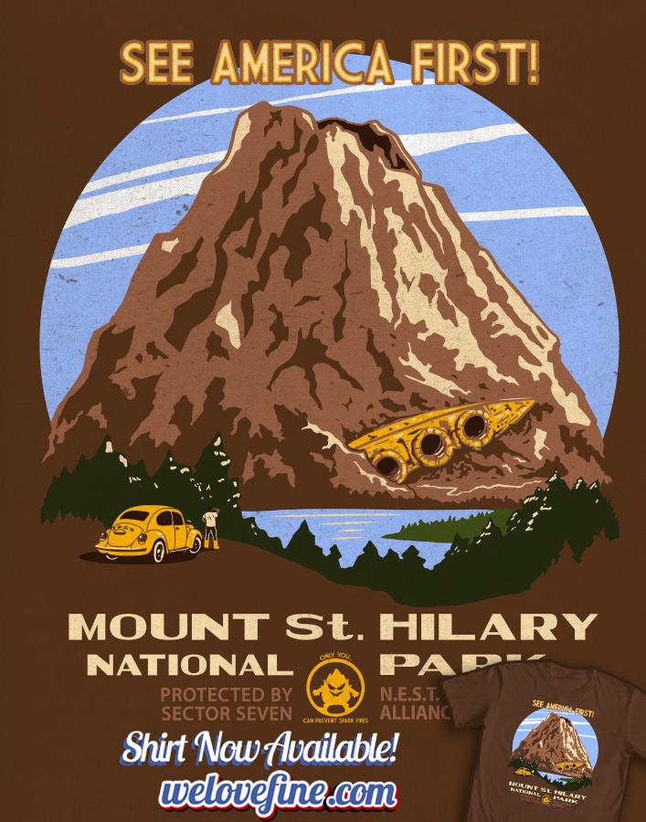 See Mount Saint Hilary by ninjaink