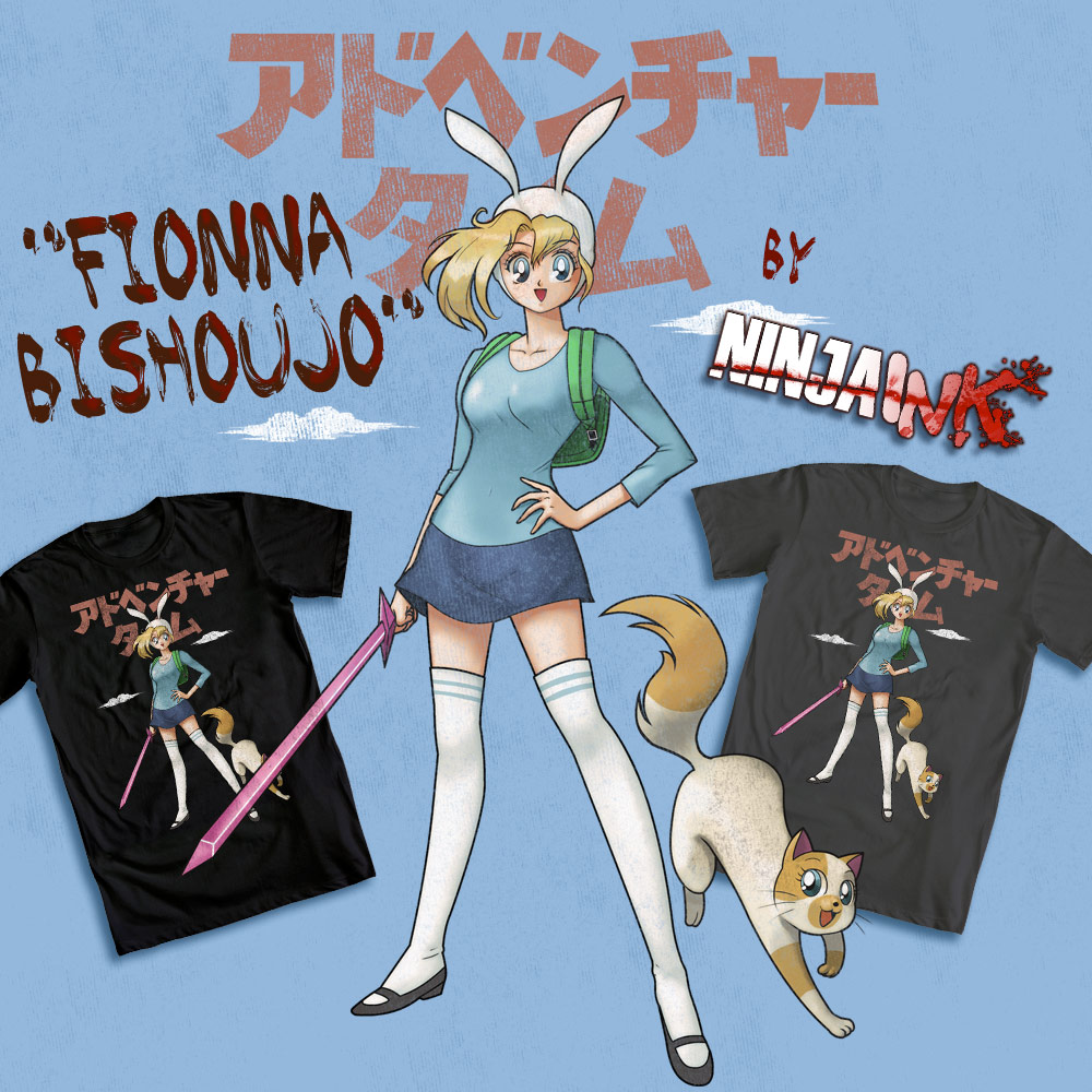 Fionna Bishoujo by ninjaink