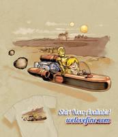 Tatooine Joyride by ninjaink