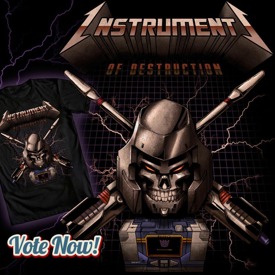 Instruments of Destruction by ninjaink