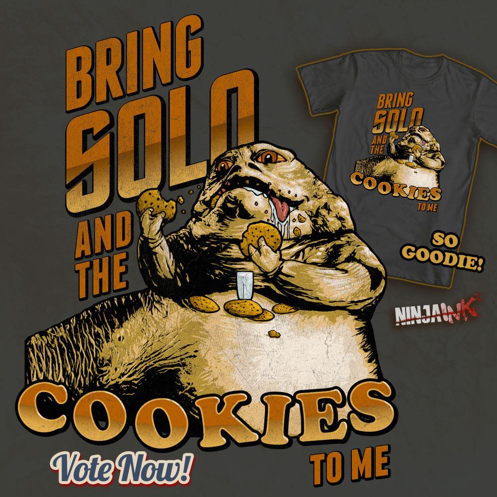 Jabba Cookies by ninjaink