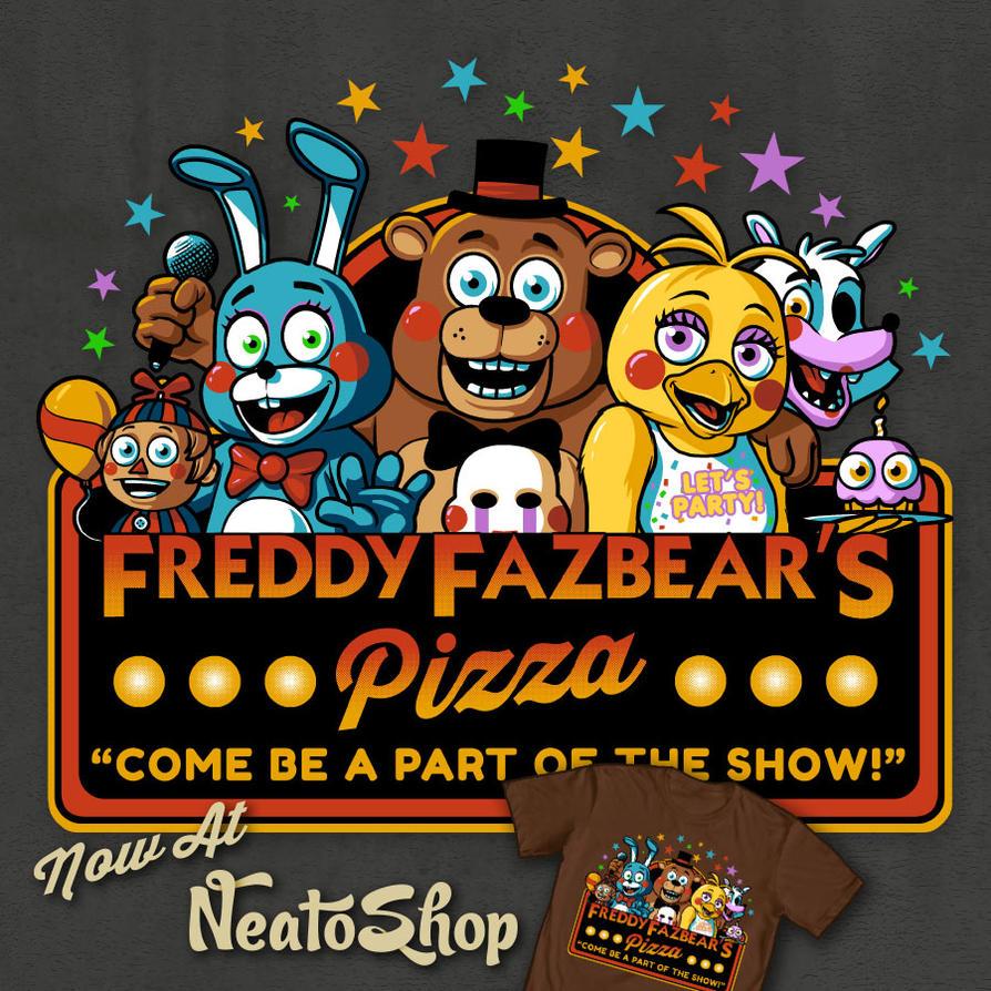 Freddy Fazbears Pizza 2nd Location by ninjaink