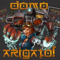 Deathtrap Arigato by ninjaink