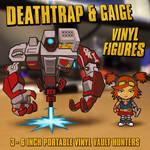 Gaige and Deathtrap Figures