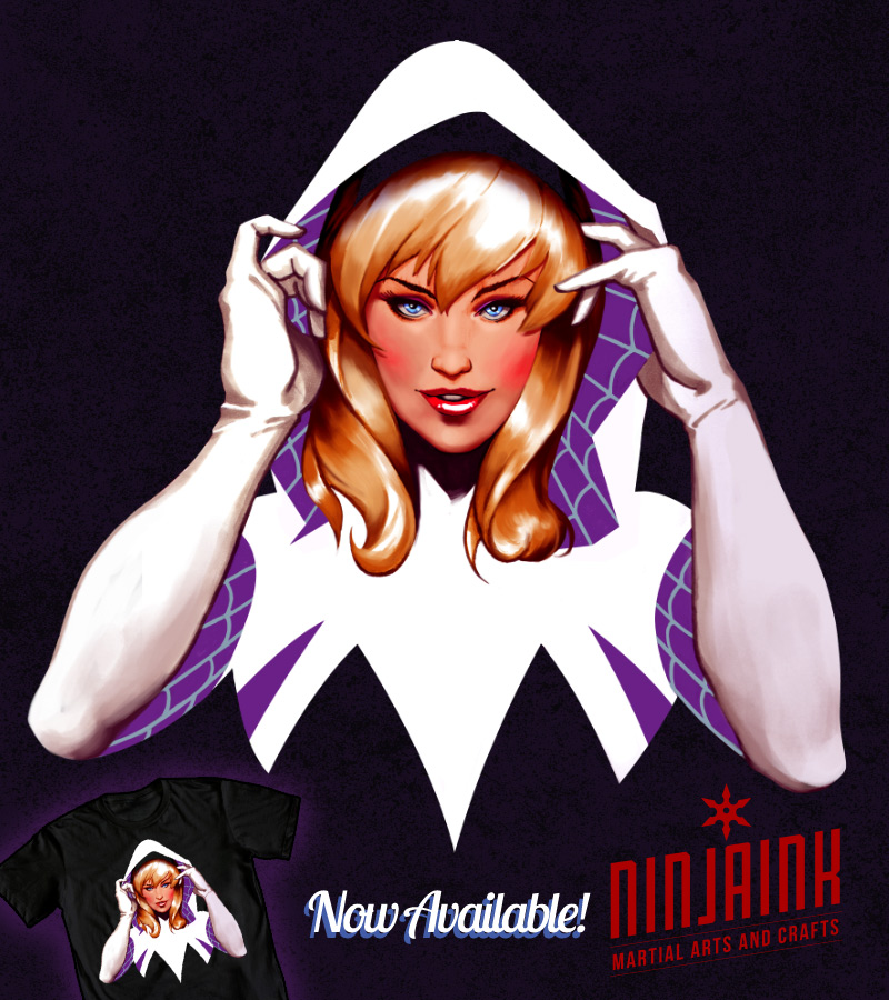 Spider-Gwen Revealed by ninjaink
