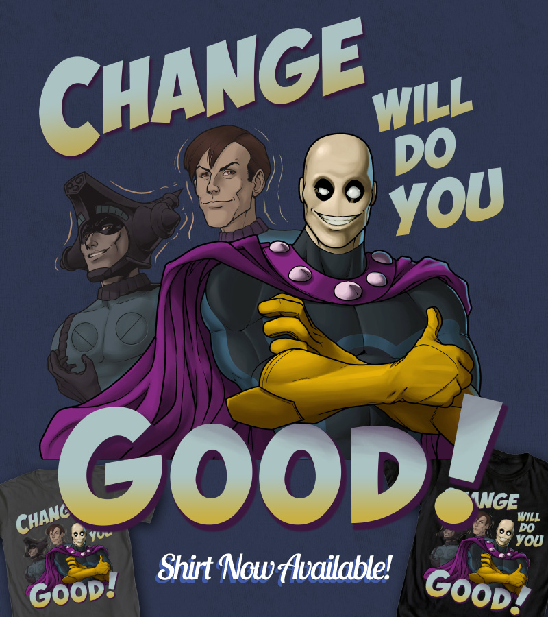 Change Will Do You Good by ninjaink