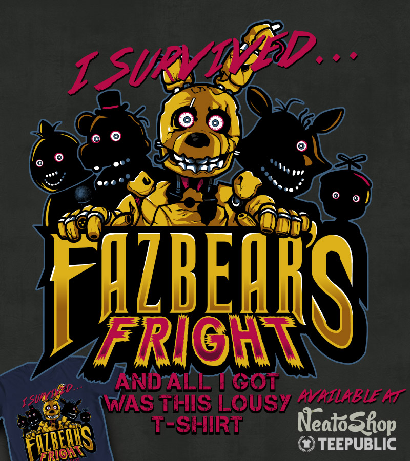 Fazbear's Fright by ninjaink