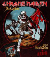 Chrome Maiden: The Captain by ninjaink