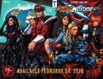 SF X GI JOE Wraparound Variant by ninjaink