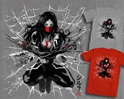 Silk Sumi E by ninjaink