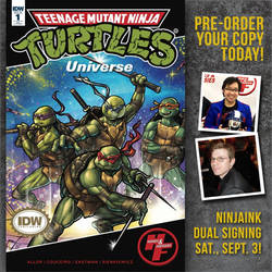 TMNT Universe Variant Cover by ninjaink