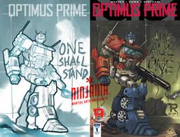 OPTIMUS PRIME Variant by ninjaink